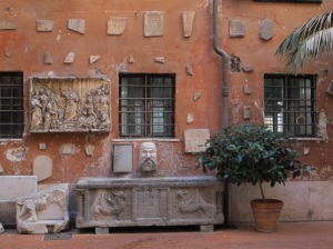 Courtyard of San Silvestro in Capite