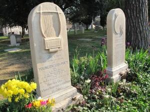 The gravestone of John Keats