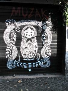Street art in Testaccio