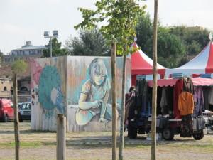 The street art cube