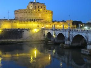 Castel Sant'Angelo at night