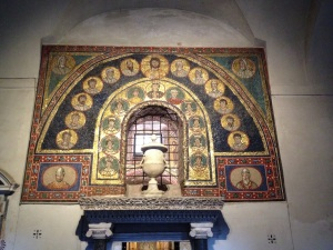 Entrance to St. Zeno's Chapel