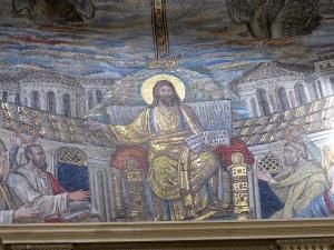 Apse mosaic of Santa Pudenziana
