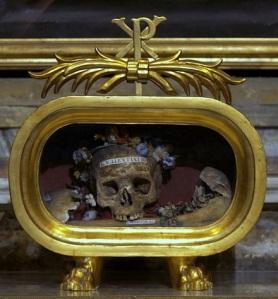 Reliquary of St. Valentine