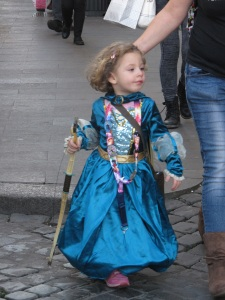 A little princess ...