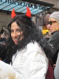 A happy devil