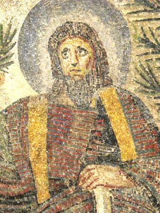 Niche mosaic detail