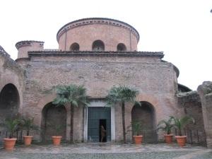 Exterior of Santa Constanza
