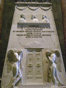 Jacobite memorial in St. Peter's Basilica