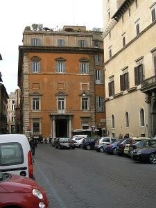 Palazzo Muti today