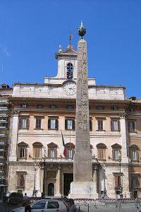 Obelisk at Monticittorio