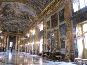 Palazzo Colonna -- art everywhere