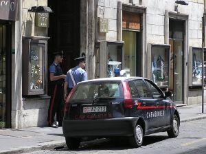 Carabinieri vehicle