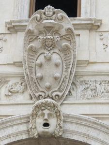 The Medici crest