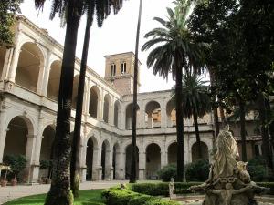 First courtyard at Palazzo Venezia.