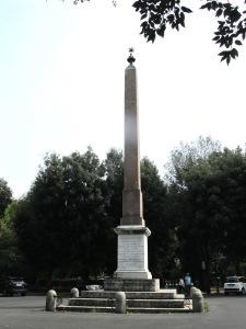 The Pincian obelisk.